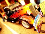 Flaming '33 Ford by LilArtist23