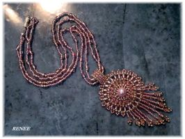 Rose Indian necklace by jasmin7