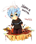 Kurokonbawa, Happy easter bunny by hyuugalanna