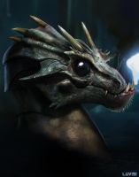BABY DRAGON - YOUR HIGHNESS by DanLuVisiArt