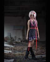 guilty crown : Inori black dress by Bakasteam