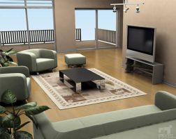 Living Room Option 3 by Liemn