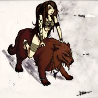 Mael and Loup by Lh0o