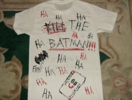 Joker Painted Shirt-Back Side by GodofPH