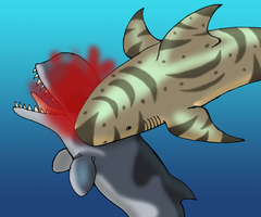 Megalodon for the Win by DaBrandonSphere