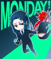 + It's a Monday! + by Bunny-Boss