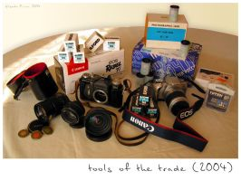 Tools of the trade - 2004 by velenux
