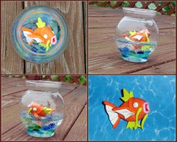 Pokemon - Magikarp Fishbowl by YellerCrakka