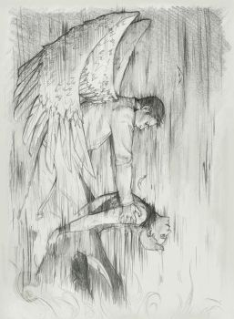 Destiel::raise you from perdition by Camacaileon