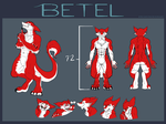 Commission: Betel Ref Sheet SFW VERSION by Reptonic