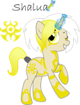 19th Free Pony Request - Shalua by Chumi-chan