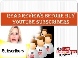 Buy YouTube Subscribers Review by Martinepaul