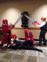 Grell's, Sebastian and Eric (Colossalcon 2013 by Superhglg
