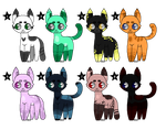 Lil Cat Adopts - OPEN by radiore