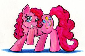 Pinkie Pie by Nethilia