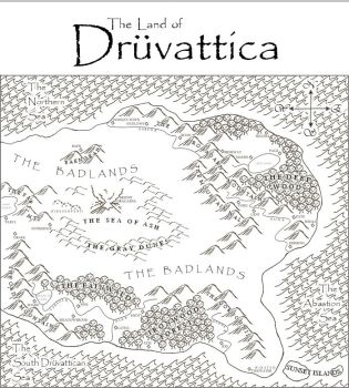The Land of Druvattica by Quellist