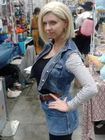 Android 18 by BrinyCosplay