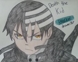 Death The Kid by RANDOM-drawer357
