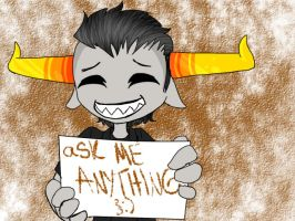 aSK ME ANYTHING, }:) by tAVROS----nITRAM