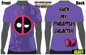 UMVC3 Deadpool T-Shirt Design: 'SMP' by Taking-Back-Shadow