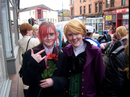 Alois Trancy and Grell Sutclif by CrystaltheEchidna01