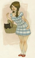 Dorothy and Toto by Atlantistel