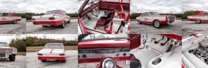 1966 Dodge Dart Factory Lightweight Race Car by samiximas