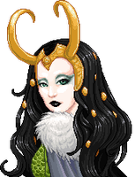 Lady Loki by mariblackheart