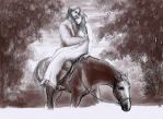 the horse knows the way home by Irsanna