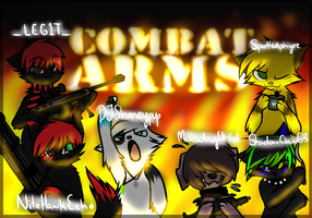 Our Combat Arms Team by Dweeb-tan