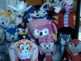 my sonic plushies by sallysonic