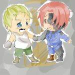GermanyXFaucherevere! Italy (tiny fanfic attached) by gohagosa