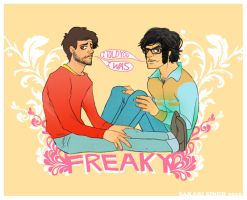 I TOLD YOU I WAS FREAKY by SakariSingh