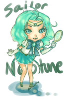 Sailor Neptune by FourTwoFive