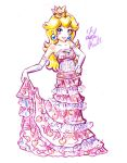 Party Dress Peach by LemiaCrescent