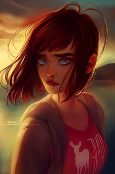 Max Caufield // Life Is Strange by mior3e