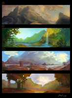 Environment concepts by DanielPLackey