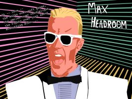 Max Headroom tribute by meromex-102