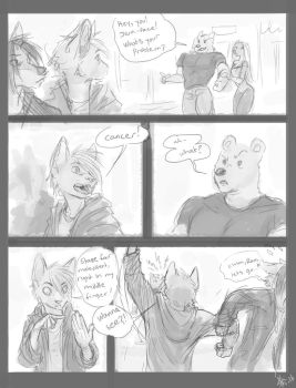 Comic Sketch: middle finger by oomizuao