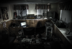 Man-Cave in HDR by sjphoto