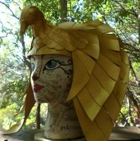 ISIS Egyptian head dress by faerywhere