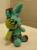 rabbit of the undead by Bunnysfriend