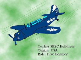 Curtiss SB2C Helldiver by pete7868