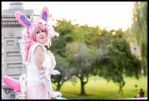 Sailor Sylveon Cosplay: Lumiose City View by Mink-the-Satyr