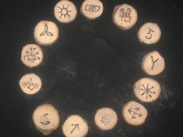 Witch Runes by WillowForrestall