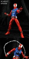 Custom Marvel Legends Scarlet Spider by Jin-Saotome