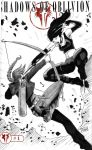 One Sketch 18: Katniss vs X-23 by Shono