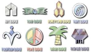 Gym badges - for SilverJ7 by Credt