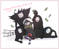 Happy Birthday, Kakuzu! by Kawaimi-san