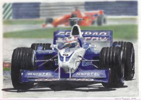 Montoya F1 - 2001 by camiloandres
